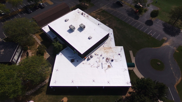 St. Joseph The Worker flat roof after.
